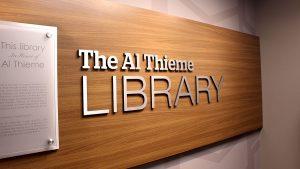 al thieme library banner