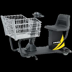 Amigo Valueshopper motorized shopping cart for grocery and retail stores