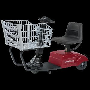 Amigo smartshopper motorized shopping cart with rear drive