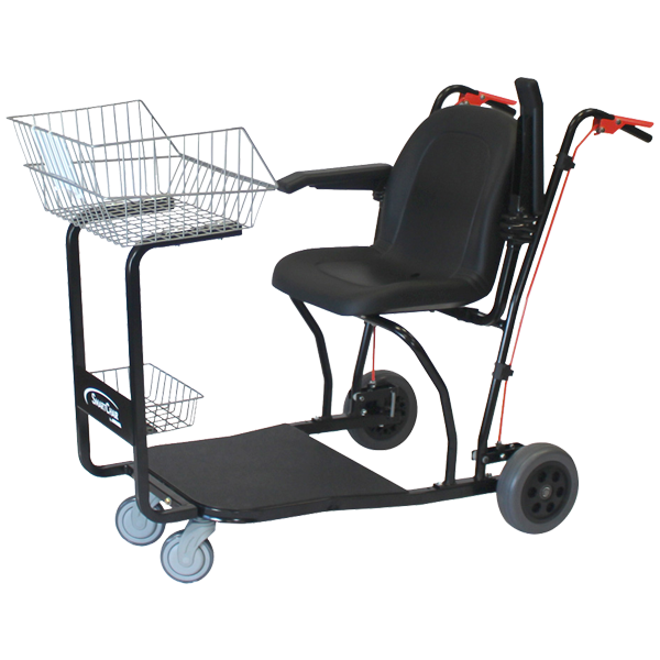 Amigo SmartChair, a better shopping expierence for people with disabilities