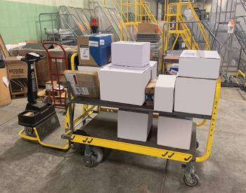Cotterman company using Amigo Dex Pro+ burden carrier