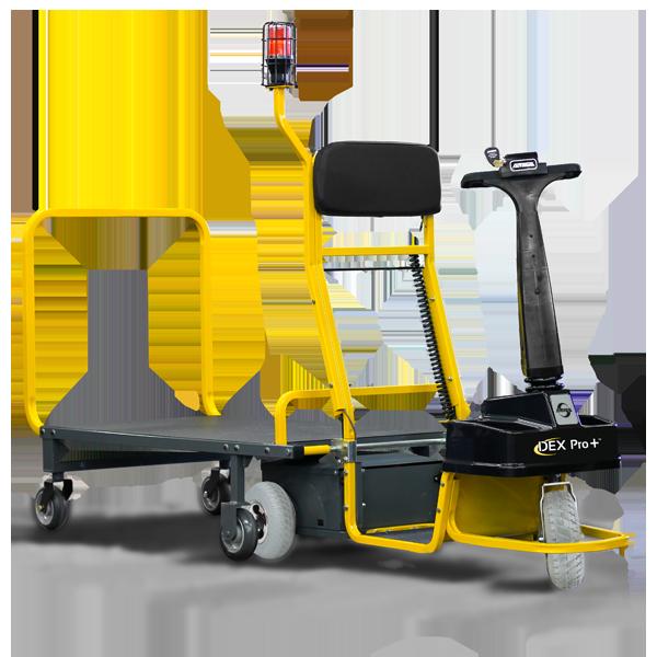 Amigo Mobility Dex Pro+ burden carrier with detachable trailer