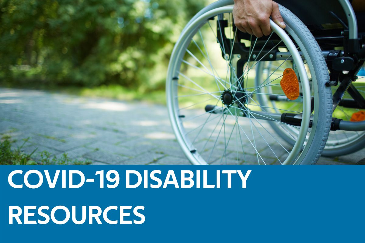 COVID-19 Resources for Persons with Disabilities Featured Image
