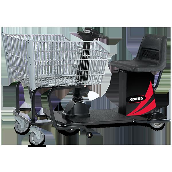 Amigo Valueshopper XL motorized shopping cart