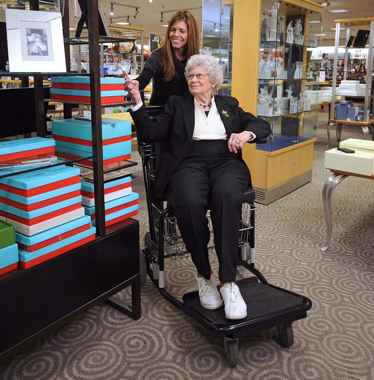 Amigo Smartchair is a wheelchair alternative for retail stores and malls