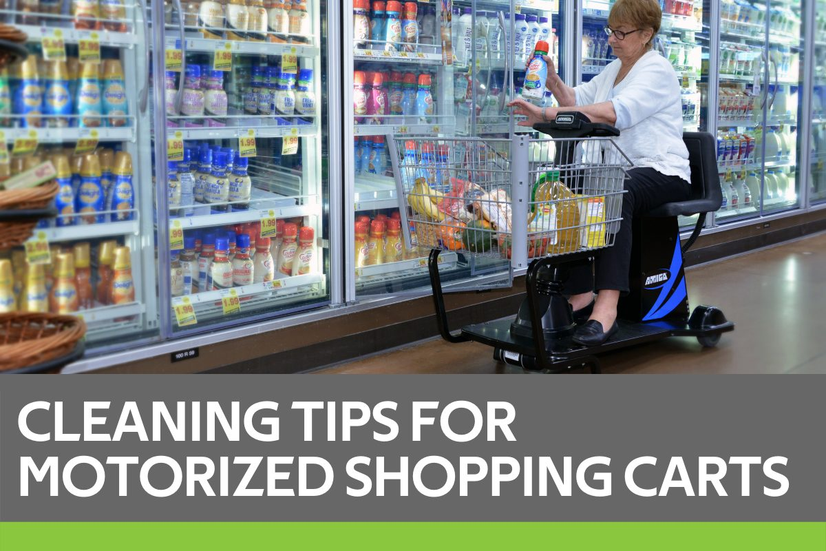 Motorized Shopping Carts Cleaning Featured Image