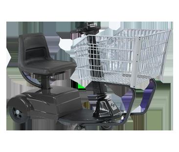 Amigo SmartShopper standard basket motorized shopping cart