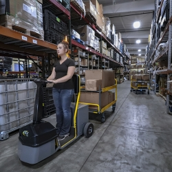 Amigo Mobility Dex HD warehouse vehicle