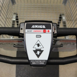 Amigo Mobility motorized shopping cart enclosure