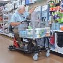 Amigo ValueShopper XL wholesale club motorized shopping cart