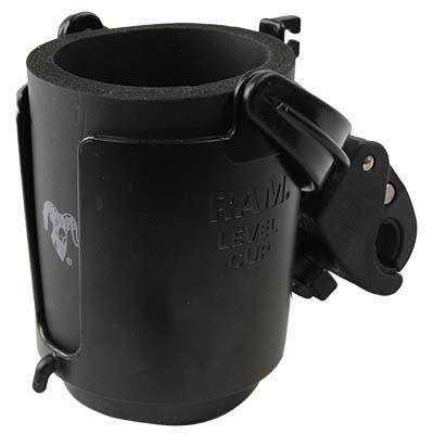 RAM cup holder for Amigo mobility device