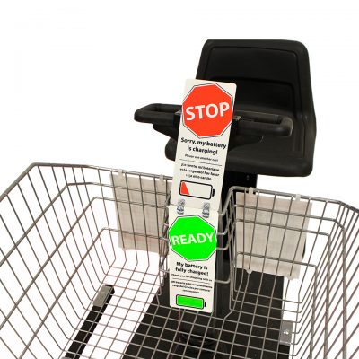 Motorized Shopping Cart Accessories