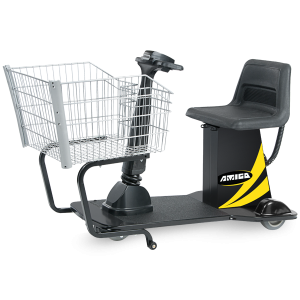 Amigo Valueshopper motorized shopping cart for grocery and retail stores