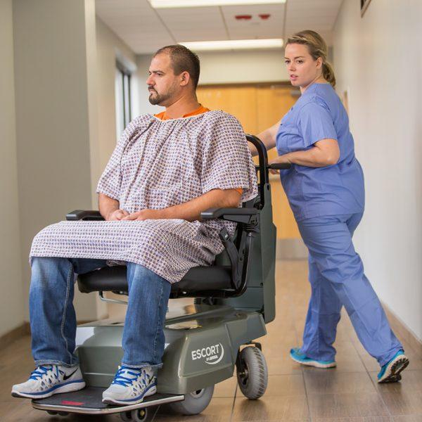 amigo_mobility_escort_hospital_safe_patient_transfer_escorting_patient