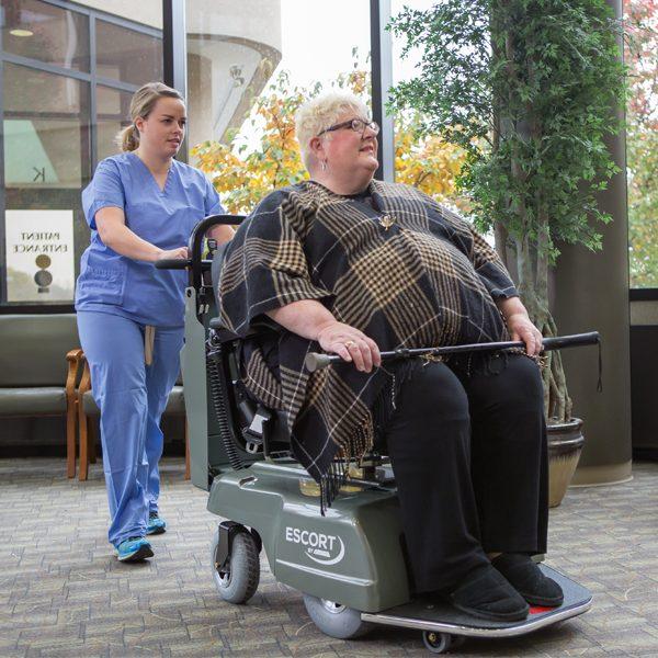 amigo_mobility_escort_hospital_safe_patient_transfer_lobby