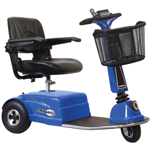 Amigo HD heavy duty mobility scooter with wide seat