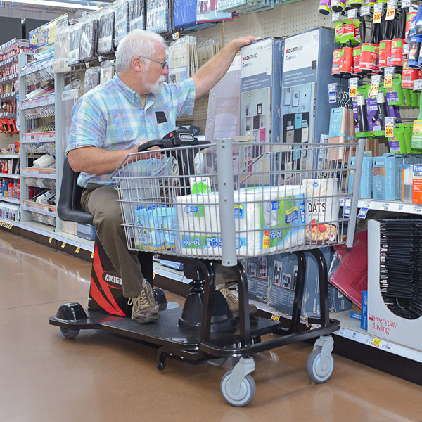 Amigo ValueShopper XL wholesale club motorized shopping cart