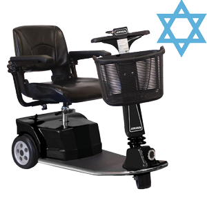 Amigo Shabbat mobility scooter can be used on the sabbath