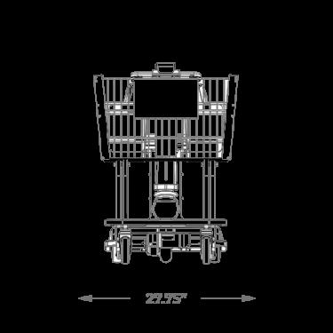 Amigo ValueShopper XL print front angle