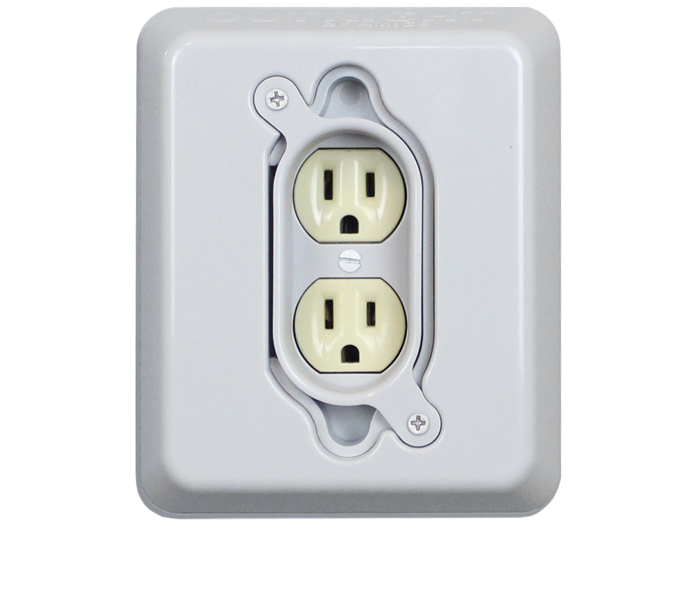 OutRight 1 gang outlet cover