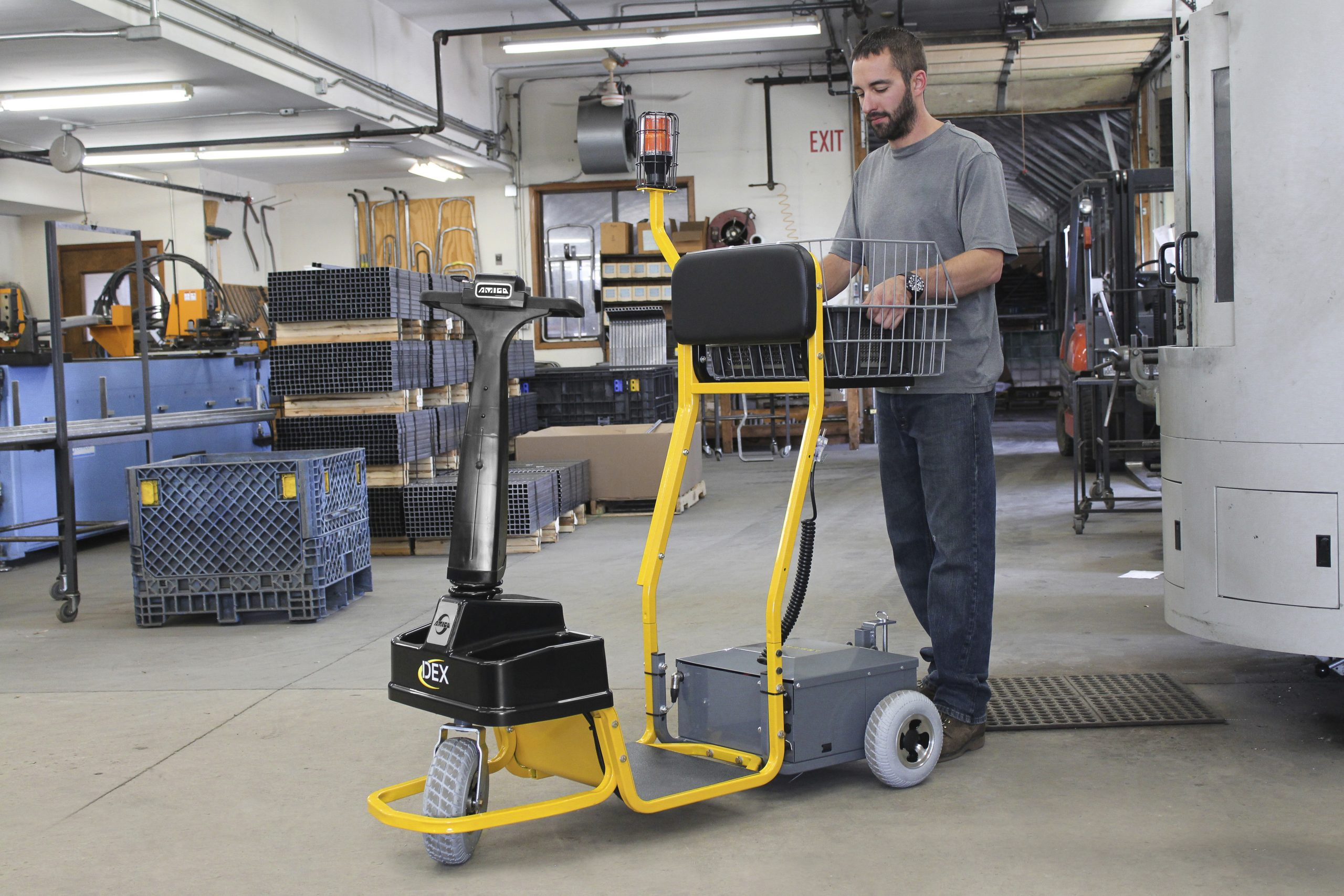 Dex electric tow tractor provides manufacturing solutions