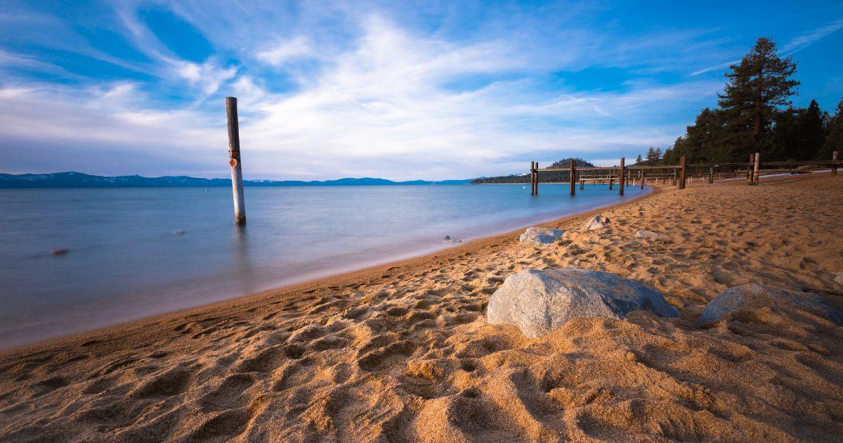 Lake Tahoe Sand and Water