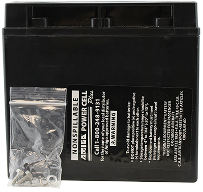 Replacement battery for Amigo RT Express