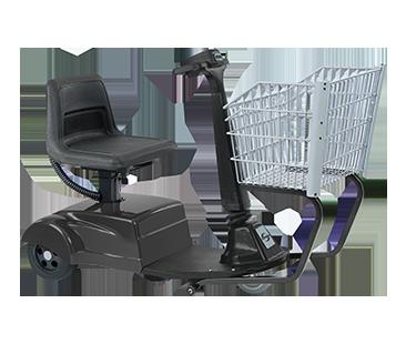 Amigo Mobility SmartShopper midsize basket on motorized shopping cart