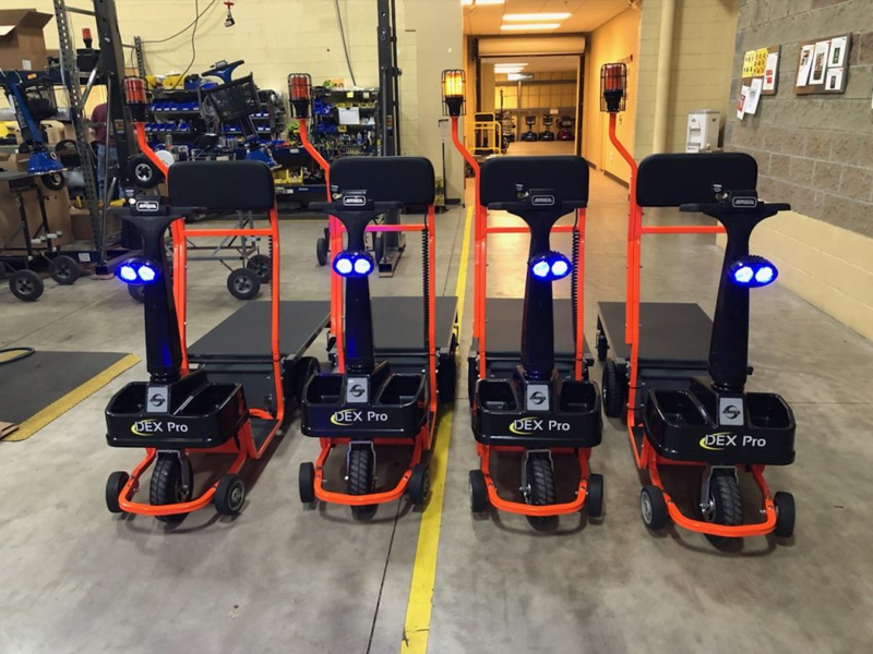Customized Dex Pro fleet